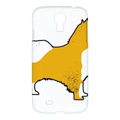 Icelandic Sheepdog Silo Color Samsung Galaxy S4 I9500/i9505 Hardshell Case