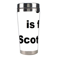 S Is For Scottish Deerhound Stainless Steel Travel Tumblers