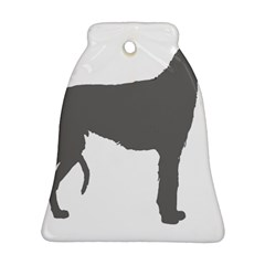 Scottish Deerhound Silo Color Bell Ornament (two Sides)