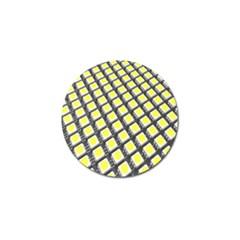 Wafer Size Figure Golf Ball Marker