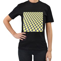 Wafer Size Figure Women s T Shirt (black) (two Sided)