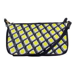 Wafer Size Figure Shoulder Clutch Bags