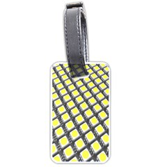 Wafer Size Figure Luggage Tags (one Side)