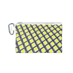 Wafer Size Figure Canvas Cosmetic Bag (s)