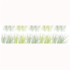 Weeds Grass Green Yellow Leaf Large Bar Mats