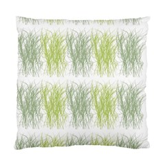 Weeds Grass Green Yellow Leaf Standard Cushion Case (two Sides)