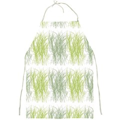 Weeds Grass Green Yellow Leaf Full Print Aprons