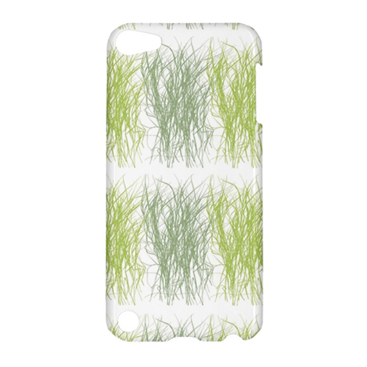 Weeds Grass Green Yellow Leaf Apple iPod Touch 5 Hardshell Case
