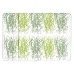 Weeds Grass Green Yellow Leaf Samsung Galaxy Tab 8 9  P7300 Flip Case