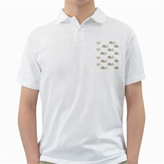 Pinecone Pattern Golf Shirts