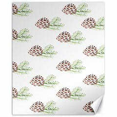 Pinecone Pattern Canvas 16  X 20