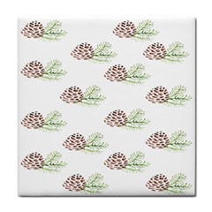 Pinecone Pattern Face Towel
