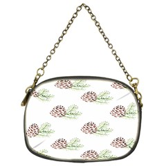 Pinecone Pattern Chain Purses (one Side)
