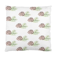 Pinecone Pattern Standard Cushion Case (two Sides)