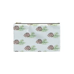 Pinecone Pattern Cosmetic Bag (small)