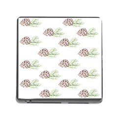 Pinecone Pattern Memory Card Reader (square)