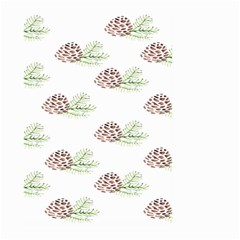 Pinecone Pattern Large Garden Flag (two Sides)