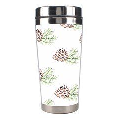 Pinecone Pattern Stainless Steel Travel Tumblers