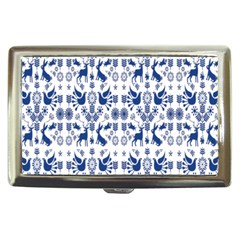 Rabbits Deer Birds Fish Flowers Floral Star Blue White Sexy Animals Cigarette Money Cases