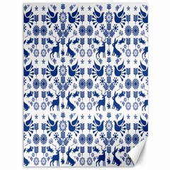 Rabbits Deer Birds Fish Flowers Floral Star Blue White Sexy Animals Canvas 36  X 48