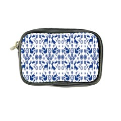 Rabbits Deer Birds Fish Flowers Floral Star Blue White Sexy Animals Coin Purse