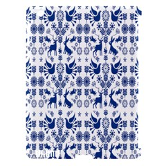 Rabbits Deer Birds Fish Flowers Floral Star Blue White Sexy Animals Apple Ipad 3/4 Hardshell Case (compatible With Smart Cover)