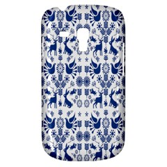 Rabbits Deer Birds Fish Flowers Floral Star Blue White Sexy Animals Galaxy S3 Mini