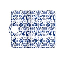 Rabbits Deer Birds Fish Flowers Floral Star Blue White Sexy Animals Kindle Fire Hdx 8 9  Flip 360 Case