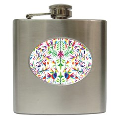 Peacock Rainbow Animals Bird Beauty Sexy Hip Flask (6 Oz)