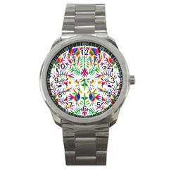 Peacock Rainbow Animals Bird Beauty Sexy Sport Metal Watch
