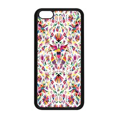 Peacock Rainbow Animals Bird Beauty Sexy Flower Floral Sunflower Star Apple Iphone 5c Seamless Case (black)