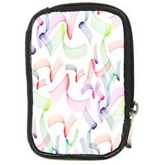 Rainbow Green Purple Pink Red Blue Pattern Zommed Compact Camera Cases