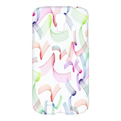 Rainbow Green Purple Pink Red Blue Pattern Zommed Samsung Galaxy S4 I9500/i9505 Hardshell Case