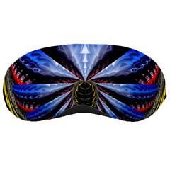 Illustration Robot Wave Sleeping Masks