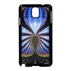 Illustration Robot Wave Samsung Galaxy Note 3 Neo Hardshell Case (black)
