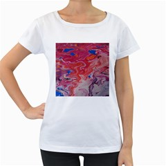 Pink Img 1732 Women s Loose Fit T Shirt (white)