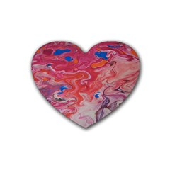 Pink Img 1732 Heart Coaster (4 Pack)