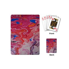 Pink Img 1732 Playing Cards (mini)