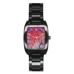 Pink Img 1732 Stainless Steel Barrel Watch