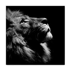 Male Lion Face Tile Coasters