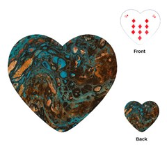 Earth Playing Cards (heart)