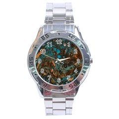 Earth Stainless Steel Analogue Watch