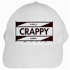 Reality Is Just A Crappy Boring Game White Cap