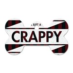 Reality Is Just A Crappy Boring Game Dog Tag Bone (Two Sides) Front