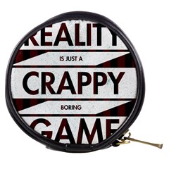 Reality Is Just A Crappy Boring Game Mini Makeup Bags