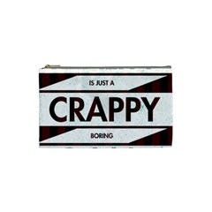 Reality Is Just A Crappy Boring Game Cosmetic Bag (small)