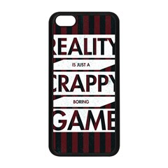 Reality Is Just A Crappy Boring Game Apple Iphone 5c Seamless Case (black)