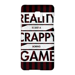 Reality Is Just A Crappy Boring Game Samsung Galaxy A5 Hardshell Case