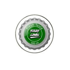 Fresh Taste Fizzy Lime Bottle Cap Hat Clip Ball Marker (10 Pack)