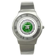 Fresh Taste Fizzy Lime Bottle Cap Stainless Steel Watch